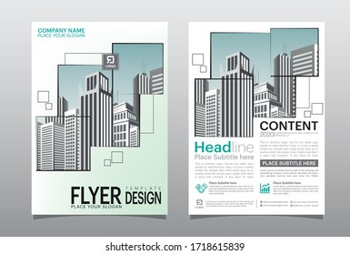 Business abstract vector template. Brochure design, cover modern layout, poster.