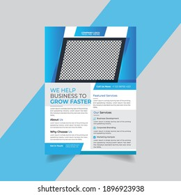 Business abstract vector template. Brochure design, cover modern layout, annual report, poster, flyer in A4 with colorful triangles,Poster Brochure Flyer design Layout vector template