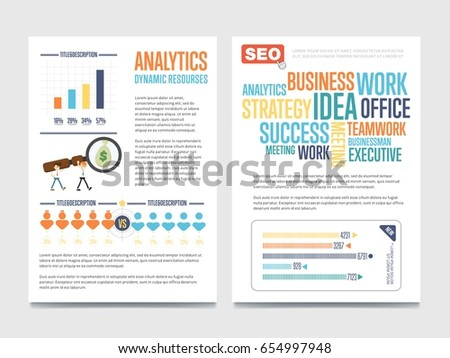 Business Analytic Banners House Keeping Banners