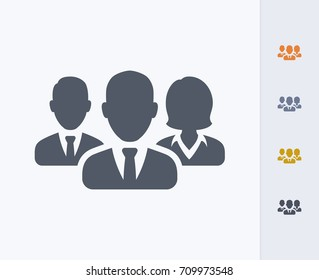 Business Avatars 1 - Carbon Icons. A professional, pixel-aligned icon.