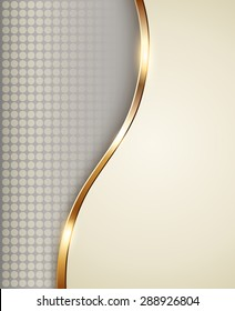Business background beige, elegant vector illustration.
