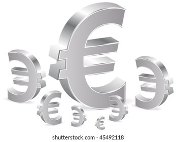 Business background with euro