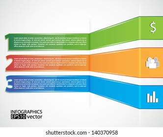 Business background. Infographic template. EPS10 vector