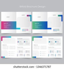 Business Bi-fold Brochure Design