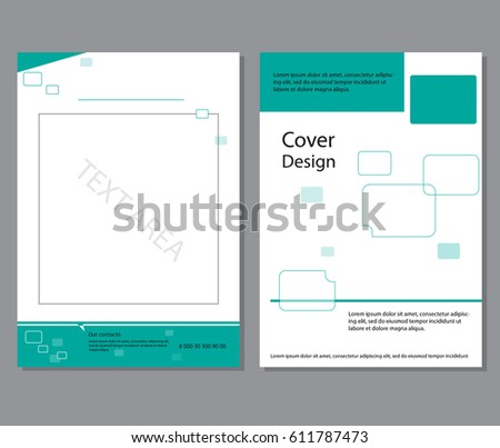 business booklet brochure cover booklet design stock vector royalty