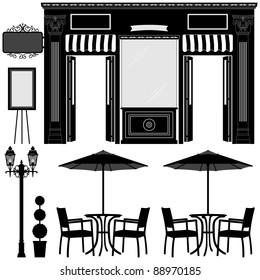 Business Boutique Commercial Shop Store Lot Exterior Design