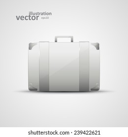 Business briefcase, modern vector icon, graphic design, stylish concept eps10