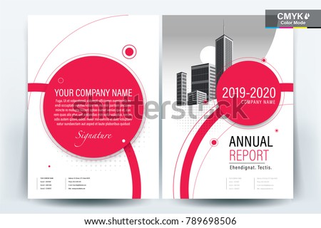 business brochure background design template flyer のベクター画像