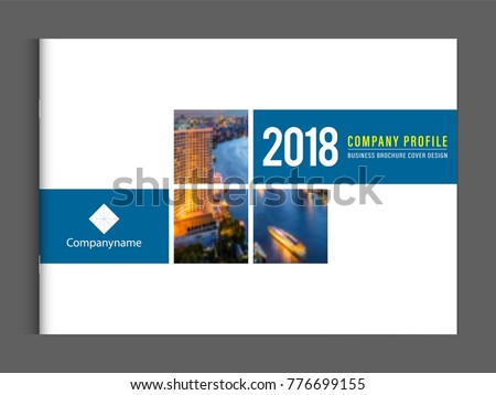 business brochure cover design template corporate のベクター画像
