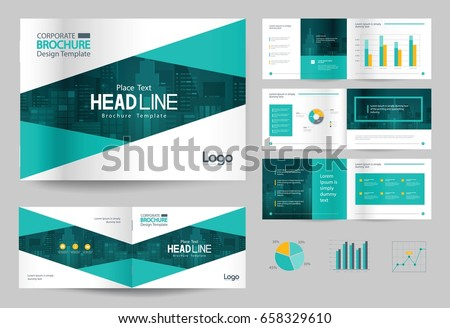 Business brochure design template page layout stock vector royalty business brochure design template and page layout for company profile annual reportwith page accmission Gallery