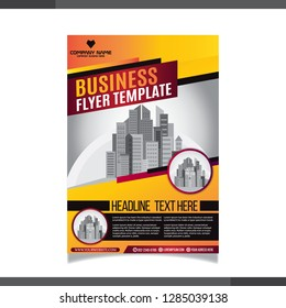Business Brochure. Flayer Design. Cover Book and Magazine. Annual Report Vector illustration - Vector