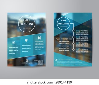 Flyer Template Stock Images RoyaltyFree Images Vectors - Free templates for brochures and flyers