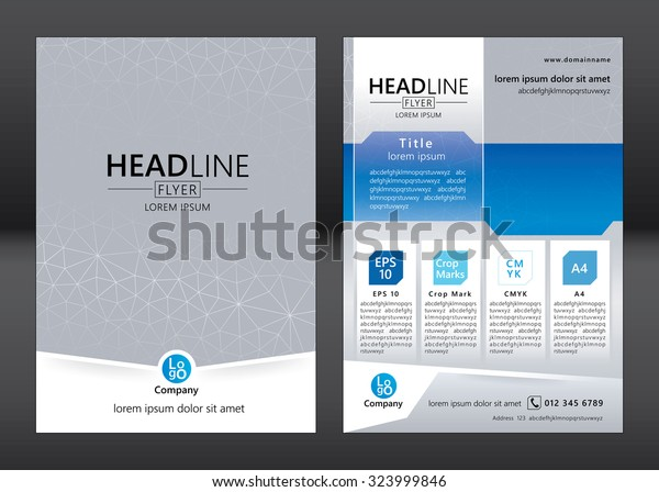 Template Brochure Free from image.shutterstock.com