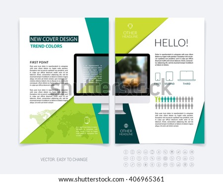 Business brochure template layout abstract flyer stock vector business brochure template layout abstract flyer design cover report magazine booklet in wajeb Images
