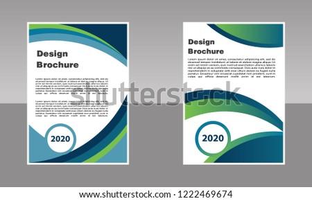 Business Brochure Vector Design Book Cover Stock Vector