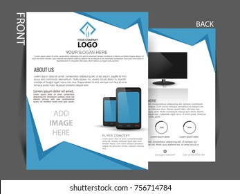 Business Brochure,Vector Flyer Design,Leaflets a4 Template,magazine cover template can be use for print and publishing.