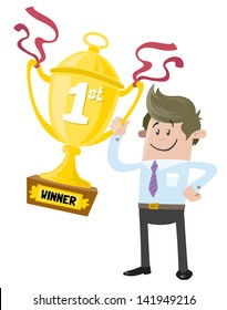 Business Buddy wins a First Prize trophy