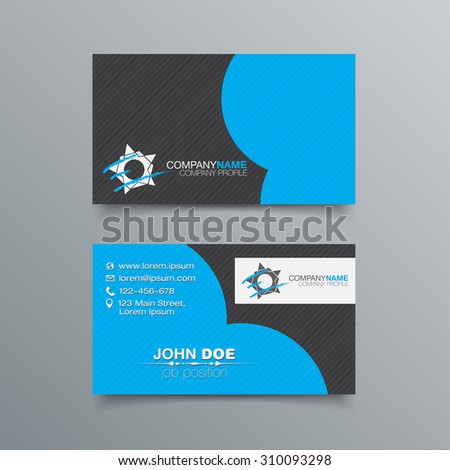 business card background design template stock stock vector royalty