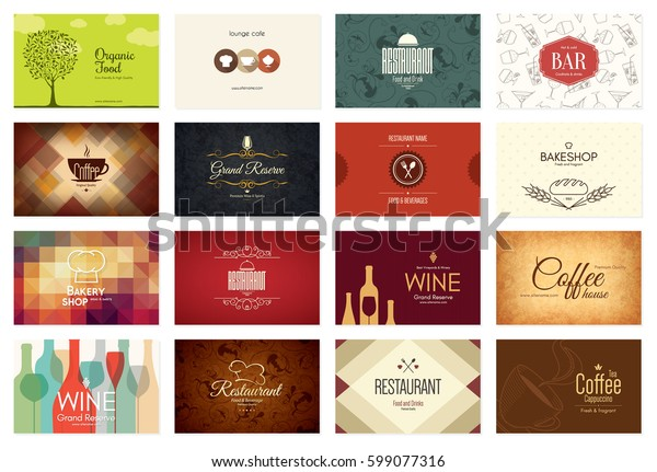 Visitenkartengroß 16 Helle Visitenkarten Essen Und Stock