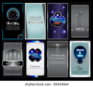 Business card collection stock vector 85550854 shutterstock business card collection reheart Image collections