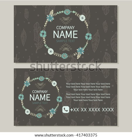 b60aad5a1 Cute design. Floral . Florist. Feathers.Tenderness, softness. All elements  are hidden under mask. Pattern are not cropped and can be edited. - Vector