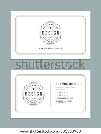 Business card design king crown logo stock vector royalty free business card design and king crown logo template vector design element vintage style for logotype colourmoves