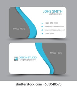3d visit card images stock photos vectors shutterstock business card design set template for company corporate style vector illustration flashek Images