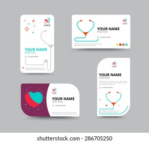 Doctor business card images stock photos vectors shutterstock business card design template leaflet business design vector illustration colourmoves