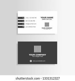 business card minimalis
