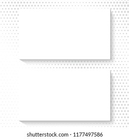 Business card. Mock up template. Vector background