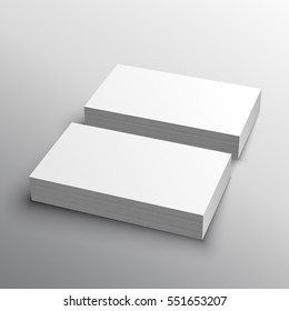 business card mockup presentation for display