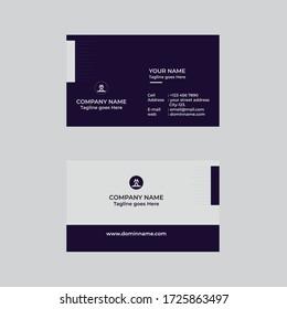 Business Card, Modern & Simple Business  Card Design Template