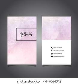 Watercolor Business Card Images Stock Photos Vectors Shutterstock