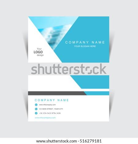 business card print template design vector stock vector royalty