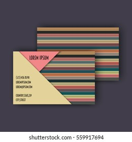 Business card template 3d paper colorful stock vector 493241797 business card template with 3d paper colorful lines background flashek Gallery