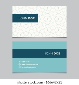 business card template background pattern vector design editable - Business Card Background
