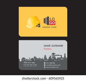 Construction Business Card Stock Images RoyaltyFree Images - Construction business card template