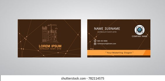business card template engineer name card - Engineer Business Card