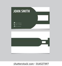 business card template letter e vector logo design