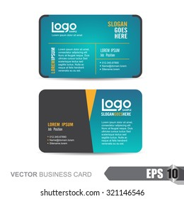 business card template,Vector illustration