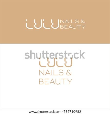 Business Card Tones Beauty Salon Spa Stock Vector (Royalty