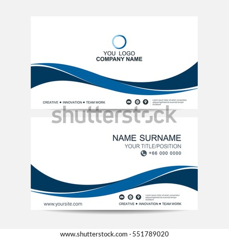 Business Card Vector Background Stock Vector Royalty Free