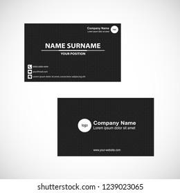 Business card vector design