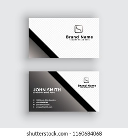 Business card. Vector. Exclusive and Modern design