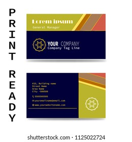 business card, visiting card, company business card,