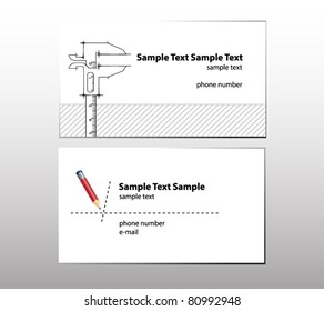 business cards for engineer