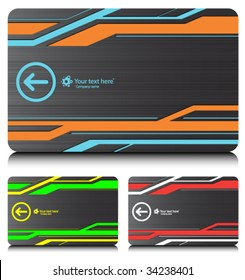 business cards (set 6)