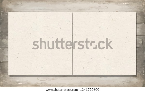 Business cards template on wooden background