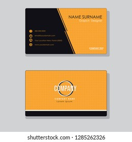 Business cards for your business, simple elegant with logos and icons for your business