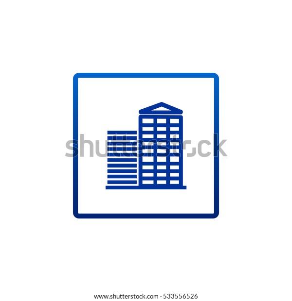 Business center icon Vector.